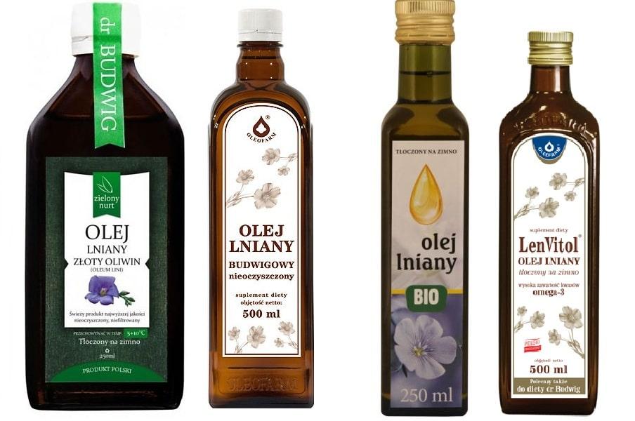 Olej z lnu - dawkowanie i skutki uboczne
